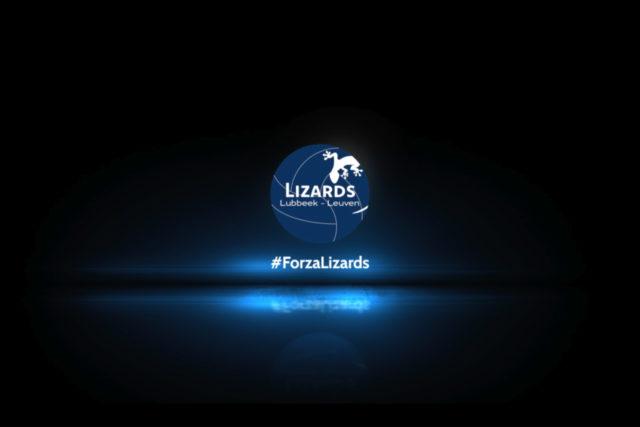 Frisser en moderner, maar even dynamisch: dit is het nieuwe logo van de Lizards